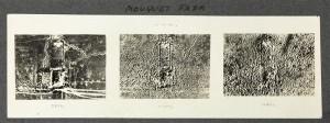 """Épreuve gélatino-argentique de """"Mouquet Farm"""" en 1916 © Paris - Musée de l'Armée, Dist. RMN-Grand Palais / Marie Bour"""