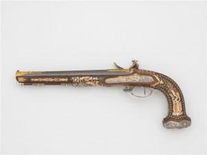 Paire de pistolets à silex, vers 1805-1810 qui aurait appartenu à Joachim Murat © Paris - Musée de l'Armée, Dist. RMN-Grand Palais / Emilie Cambier
