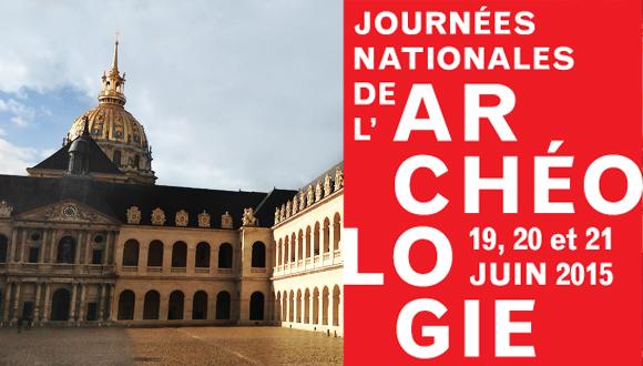 Journées nationales de l'archéologie au musée de l'Armée : bandeau