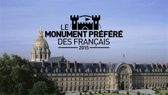 """Tournage de l'émission """"le monument préféré des Français"""" aux Invalides"""