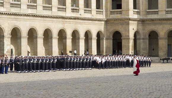 Prise d'armes présidentielle jeudi 25 juin 2015 : bandeau