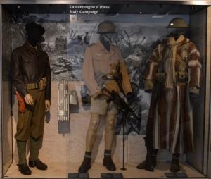 Tankiste du 7ème RCA (Régiment de Chasseur d'Afrique) dans sa vitrine © Paris, musée de l'Armée / Chloé Berard