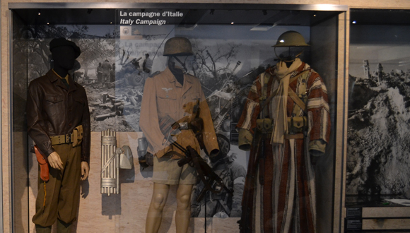 Des nouveautés dans les salles Seconde Guerre mondiale