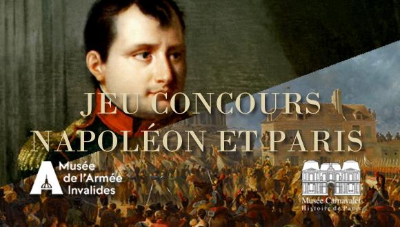Jeu concours Napoléon et Paris : bandeau