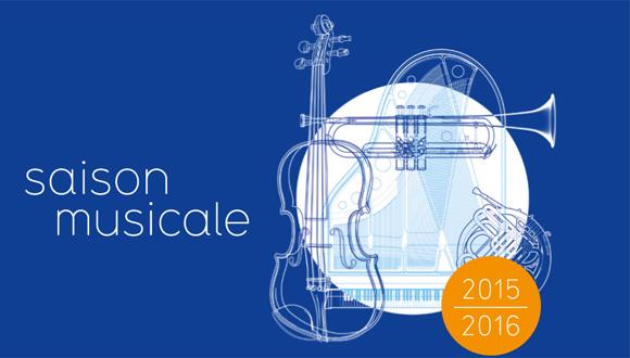 Saison musicale 2015-2016 : bandeau