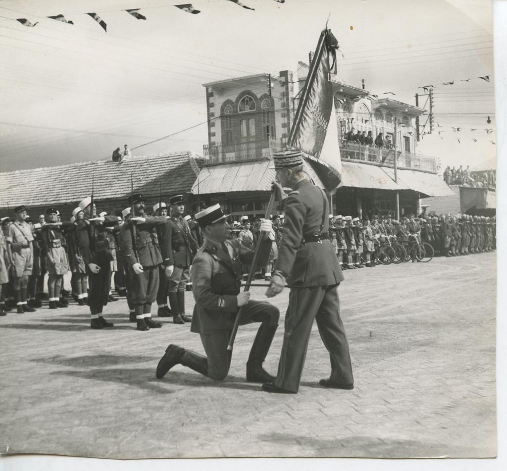 MA BA ExpoMol 09 2 300x278 Dans lhonneur et par la victoire, épisode 9 : la 13e  demi brigade de Légion étrangère (13e DBLE)