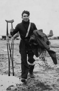 Louis Ricardou, légionnaire amputé pour faits de guerre, mort au combat à son poste de mitrailleur arrière © musée de l'ordre de la Libération / DR