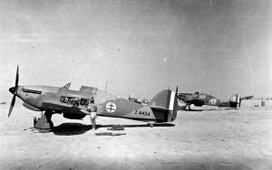 Les avions du groupe Alsace en Libye en 1942 © musée de l'ordre de la Libération / DR