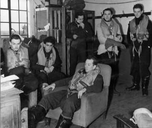 Des pilotes du groupe Ile de France © musée de l'ordre de la Libération / DR