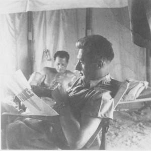 André Zirnheld, compagnon de la Libération et auteur de La prière du parachutiste © musée de l'ordre de la Libération / DR