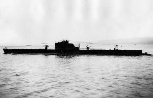 Le Rubis près des côtes norvégiennes le 22 août 1941 © musée de l'ordre de la Libération / DR