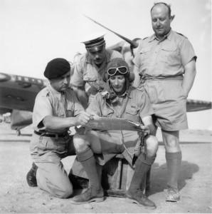 L'escadrille française de chasse n° 1 en Libye © musée de l'ordre de la Libération / DR