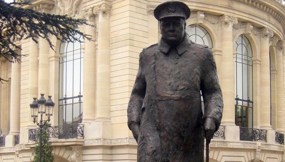 Colloque « Winston Churchill (1874-1965) en temps de paix et de guerre » : bandeau