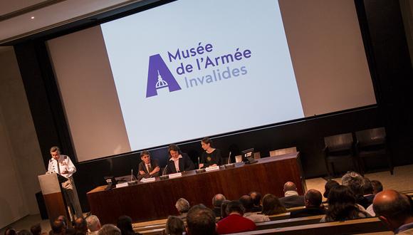 Conférence de presse du musée de lArmée : bandeau
