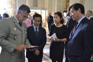 MA BA delegation chinoise 1 20150908 300x200 Visite dune délégation chinoise au musée de l'Armée !