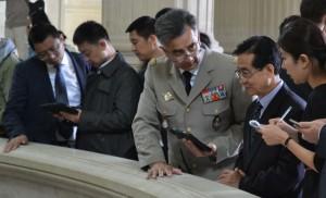 MA BA delegation chinoise 2 20150908 300x182 Visite dune délégation chinoise au musée de l'Armée !