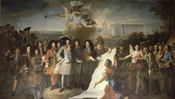 300e anniversaire disparition de Louis XIV : bandeau