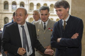 MA fb chevaliersetbombardes inauguration 20151006 1 300x199 Exposition « Chevaliers et bombardes », l'inauguration