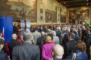 MA fb chevaliersetbombardes inauguration 20151006 10 300x199 Exposition « Chevaliers et bombardes », l'inauguration