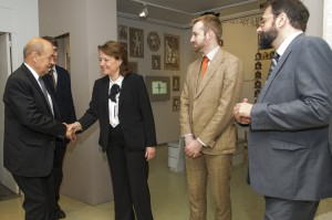 MA fb chevaliersetbombardes inauguration 20151006 2 300x199 Exposition « Chevaliers et bombardes », l'inauguration