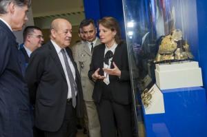 MA fb chevaliersetbombardes inauguration 20151006 3 300x199 Exposition « Chevaliers et bombardes », l'inauguration