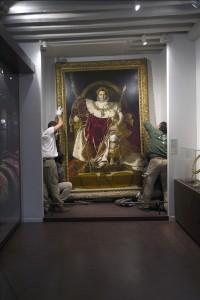 Décrochage tableau de Ingres © Paris, musée de l'Armée/Pascal Segrette