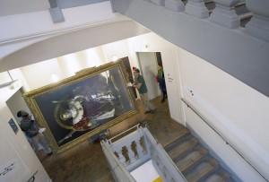 1115 INGRES Napoleon PS 005 300x203 Napoléon Ier en route pour le musée du Prado