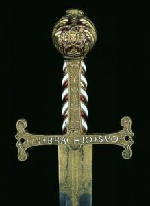 Epée de François Ier (1494-1547), roi de France © Paris - Musée de l'Armée, Dist. RMN-Grand Palais / Pascal Segrette