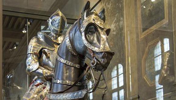 Armure équestre de François Ier © Paris - Musée de l'Armée, Dist. RMN-Grand Palais / Anne-Sylvaine Marre-Noël