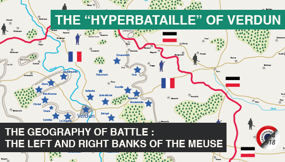 "The ""hyperbataille"" of Verdun, first episode"