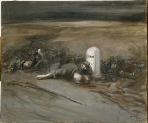 Verdun épisode 1-1 : La Borne, Forain Jean-Louis (1852 – 1931) / Photo © Paris – Musée de l'Armée, Dist. RMN – Grand Palais / Christian Moutarde