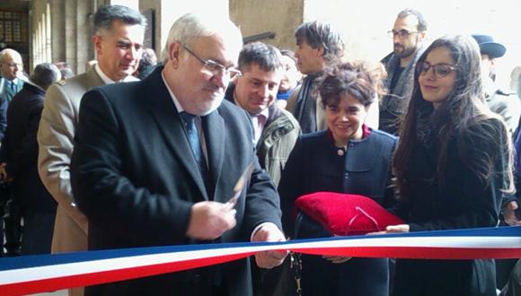 "Inauguration exposition ""L'hyperbataille de Verdun"" : bandeau"