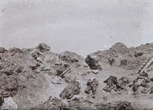 Verdun épisode 11-1 : Cadavres de soldats Allemandes au Fort de Vaux, Danton Louis