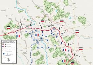 extension de la bataille 300x212 Lhyperbataille de Verdun, quatrième épisode : lextension de la bataille rive gauche, 26 février   1er mars 1916