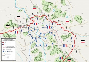 offensive française 300x212 The hyperbataille of Verdun, sixth episode : the french offensives 19 October   15 December, 1916