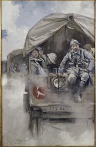 Verdun épisode 13-2 : Sur la route, Flameng François