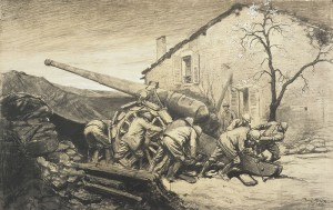 MA BA expoverdun 1401 300x189 Lhyperbataille de Verdun, quatorzième épisode : le rôle de lartillerie