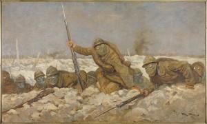 Verdun épisode 17-1 : Soldats avec masque à gaz, Scott Georges Bertin