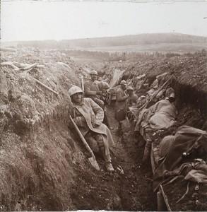 Verdun épisode 18-1 :  Tranchées françaises à Verdun, © Musée de l'Armée