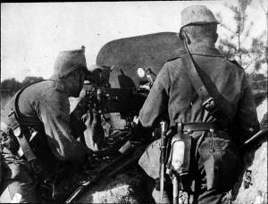 Verdun épisode 18-3 : Un mitrailleur Allemande à Verdun, © Ministère de la culture - Médiathèque du Patrimoine