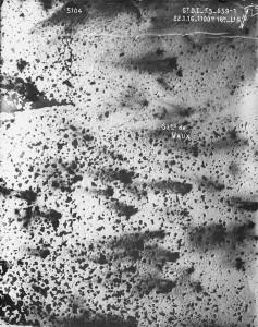 Verdun épisode 22-2 : Vue aérienne de Vaux, © Musée de l'Armée