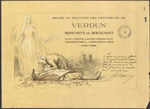 Verdun épisode 26-3 : Diplôme remis aux souscripteurs de l'oeuvre du souvenir des défenseurs de Verdun, Scott Georges Bertin