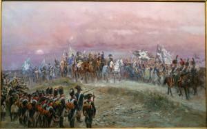 La victoire est à nous ! Soir d'Iéna, 1806, Jean-Baptiste-Edouard Detaille, 1894, huile sur toile, coll. musée de l'Armée.