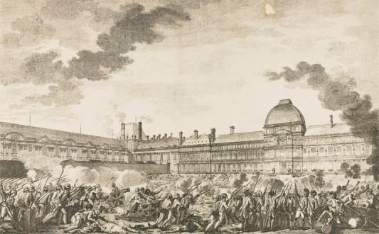 Journée du 10 août 1792 © Paris, musée de l'Armée, dist. RMN-GP
