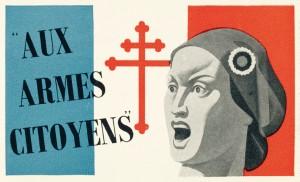 Ci-dessus, deux tracts appellent à la Résistance contre l'occupant allemand. Dons de Jean-Louis Crémieux-Brilhac. À voir dans les espaces Seconde Guerre mondiale du musée de l'Armée © Paris musée de l'Armée, dist. RMN-GP