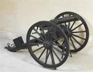 Canon à balles modèle 1866, dit de Reffye © musée de l'Armée, dist. RMN-GP / Philippe Fuzeau