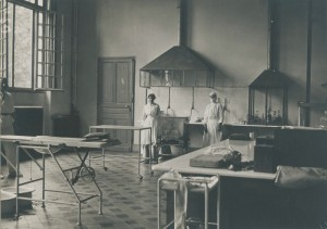 L'American Ambulance Hospital © Nanterre, Bibliothèque de documentation internationale contemporaine