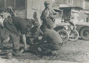 À Vavincourt dans la Meuse, le 17 juillet 1916. © Nanterre, Bibliothèque de documentation internationale contemporaine
