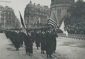 Paris, le 4 juillet 1918. © Bibliothèque de documentation internationale contemporaine