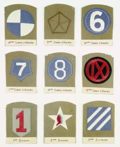 Shoulder sleeve insignia. © Paris, musée de l'Armée, dist. RMN-GP Pascal Segrette